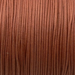 Fil Coton 0,5mm Marron (x 2m)