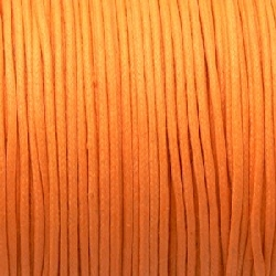 Fil Coton 1,5mm Orange Clair (x 2m)