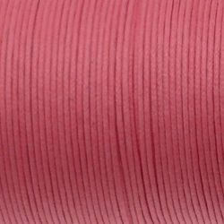 Fil Coton 1mm rose Bonbon (x 2m)