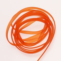 Bande PVC - 6x2mm couleur orange (x 2m)