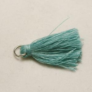 pampille-coton-turquoise