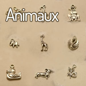 perles forme animaux