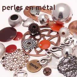 Menu Perles Metal