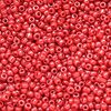 Perles de Rocaille 2mm couleur rouge brillant (x 20g)
