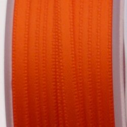Ruban de satin 3mm couleur orange (x 1m)