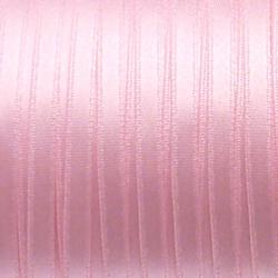 Ruban de satin 5mm couleur rose (x 1m)
